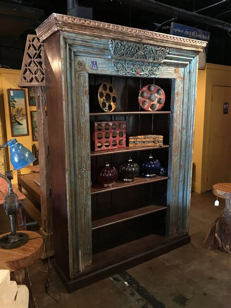 Indian Wood Bookcase by Furniture Imported Furniture Sustainable And