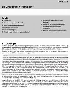 Sondervorauszahlung Berechnen : umsatzsteuervoranmeldung formular ~ Themetempest.com Abrechnung