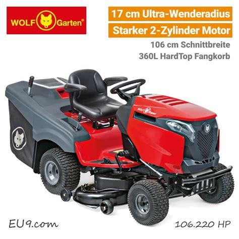 Wolfgarten Alpha 106220 Hp Vtwin 2zylinder