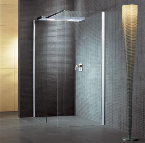 open glass shower select surfaces that can stand up to moisture even with careful attention to an open shower s