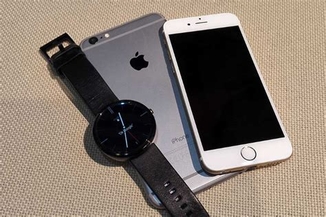 android wear iphone iphone users can now use android wear smartwatches
