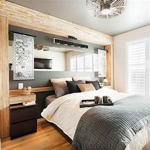 Chambre rustique et chic chambre inspirations for Chambre chic