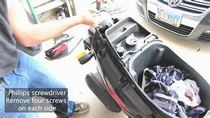 Yamaha Zuma 50cc - Back End Removal