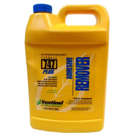 flooring adhesive remover sentinel 747 floor adhesive remover