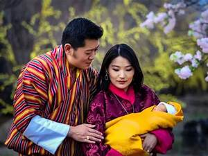 King And Queen Of Bhutan And Their Son His Royal Highness