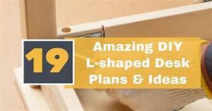 19 amazing diy l shaped desk plans ideas pro tool guide