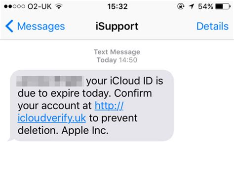 iphone message detected on iphone is it legit here s the apple iphone users targets in new icloud text message scam