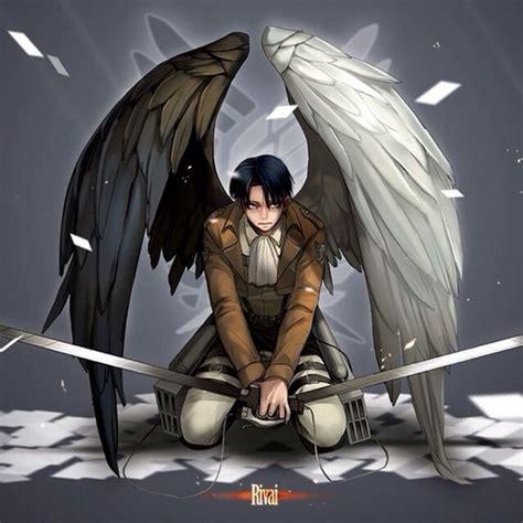 levi rivaille shingeki  kyojin images guardien angel