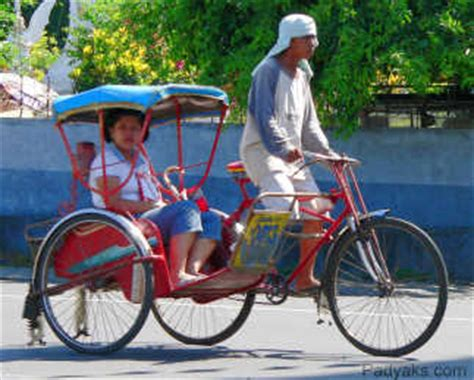 philippine pedicab padyaks what is a padyak