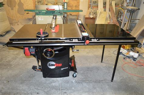 Sawstop Cabinet Saw Dimensions by Review Sawstop 3hp 10 Inch Cabinet Saw With 36 Quot T Glide
