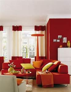 Farben Und Wohnen : inspiration wohnzimmer mit sch ner wohnen trendfarbe ziegel bild 3 sch ner wohnen ~ Markanthonyermac.com Haus und Dekorationen