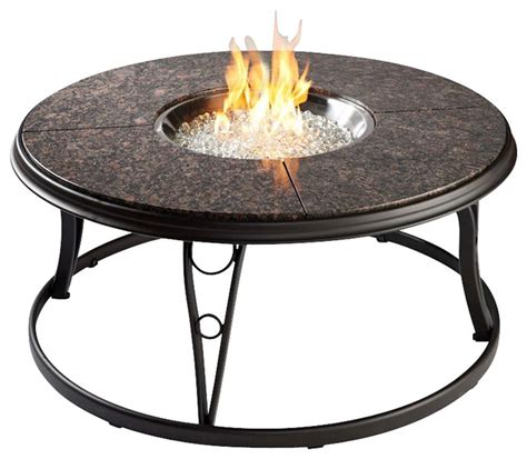 gas pit table outdoor greatroom granite 42 inch gas pit table