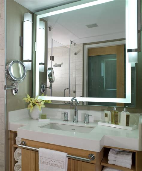 Electric Bathroom Mirrors by Integrity Led Lighted Bathroom Mirror By Electric Mirror 174