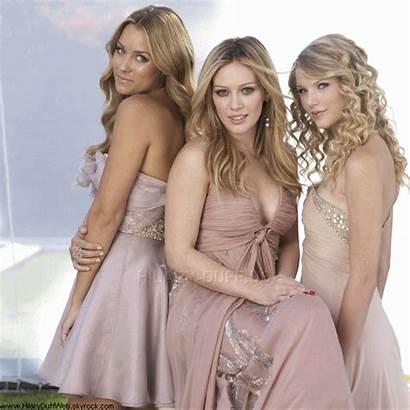 Duff Hilary Swift Taylor Conrad Lauren Avec