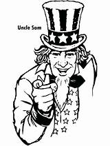 July 4th Coloring Pages Uncle Sam Colouring Metal Heavy Special Primarygames Patriotic Slipknot Adult Drawing Fourth Flag Cool Printable Books sketch template