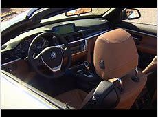 BMW 4 Series Convertible INTERIOR Price $50,000+ BMW 435i