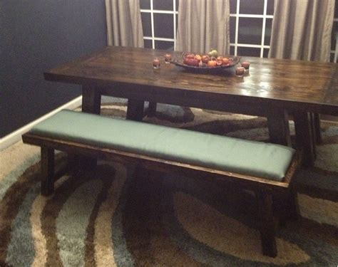 ana white benchwright farmhouse table benches diy