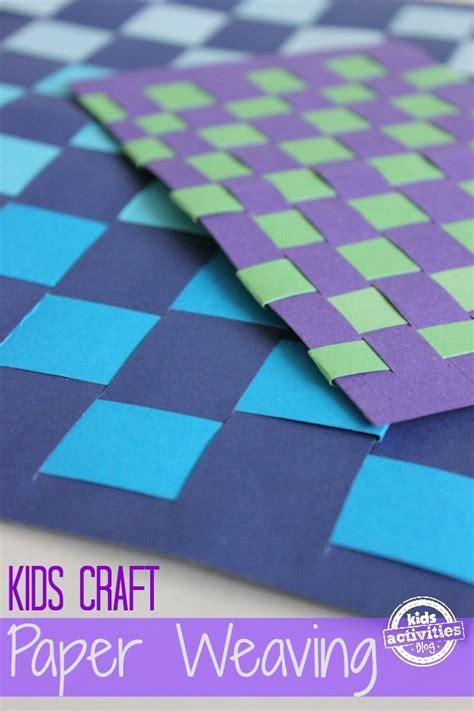 paper weaving craft  kids kids activities
