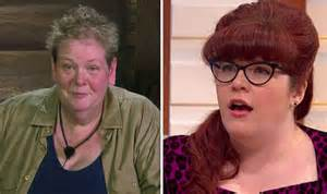 anne hegerty im  celebrity  stars pal addresses