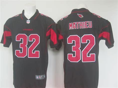 Men's Nike Arizona Cardinals #32 Tyrann Mathieu Black