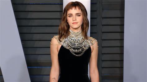 Emma Watson Shows Off Time Tattoo Oscars