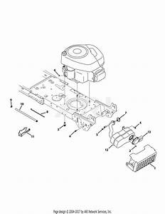 Mtd 13an785s001  2013  Parts Diagram For Engine Accessories