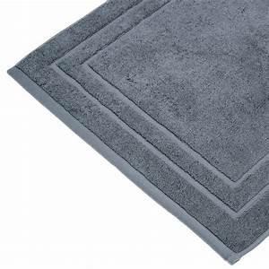 tapis de bain 700g m2 70x50cm gris fonce With tapis gris foncé