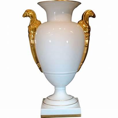 Vista Alegre Vase Porcelain Portuguese Urn Handles