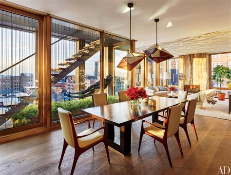 dining room decor   york city  architectural