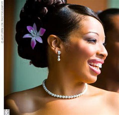 updo black hairstyles  weddings
