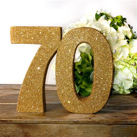 large 70th birthday anniversary number 70th birthday anniversary large glitter number birthday