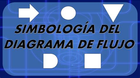 diagrama de flujo simbologia youtube