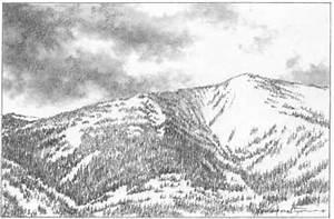 Snow Mountains Drawing   www.pixshark.com - Images ...