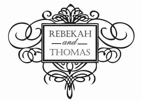 Wedding Monogram Free Template Choice Image - Template Design Ideas