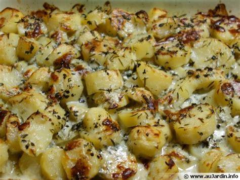 Pomme De Terre Farcie Au Roquefort by Gratin De Pommes De Terre Au Roquefort Recette De Cuisine