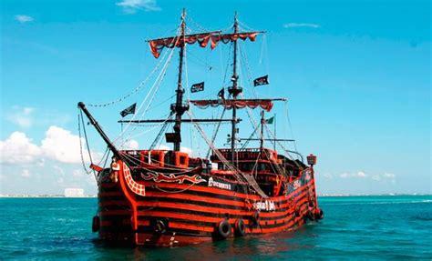 Barco Pirata Hook Cancun by Barco Pirata Canc 250 N Capitan Hook Tours De Noche Canc 250 N