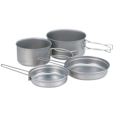 cookware backpacking titanium camping sets cookset peak snow compact multi