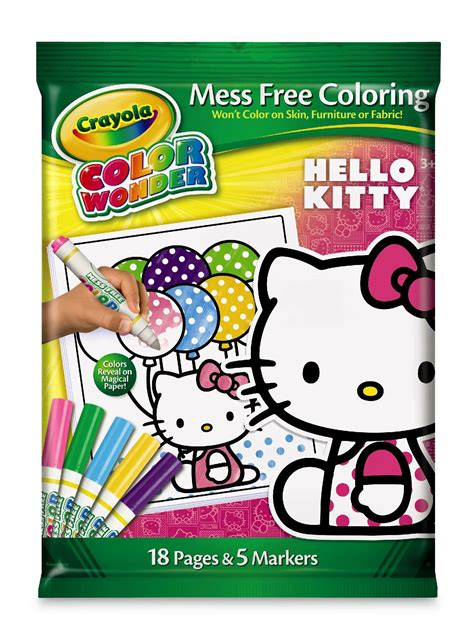 crayola  kitty  page mess  coloring book
