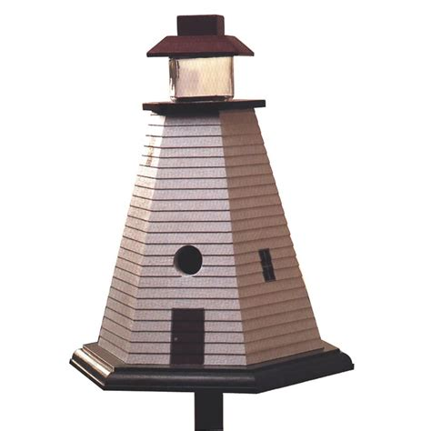 lighthouse birdhouse woodworking plan  wood magazine