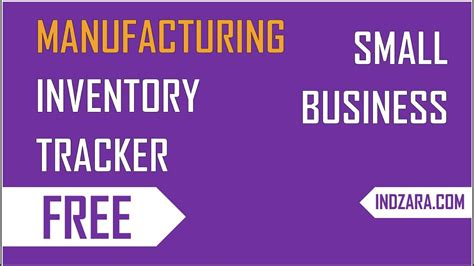 Free Template For by Free Inventory Management In Excel For Manufacturing