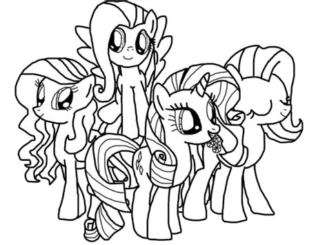 Coloring Kuda Poni by Mlp Coloring Page 1 By Lovableponies On Deviantart