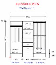 Closet Rod Height by Wardrobes Order Guidelines