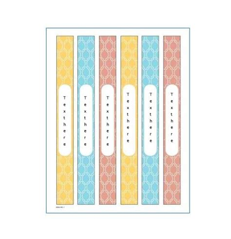 40 Binder Spine Label Templates In Word Format Template 40 Binder Spine Label Templates In Word Format Template