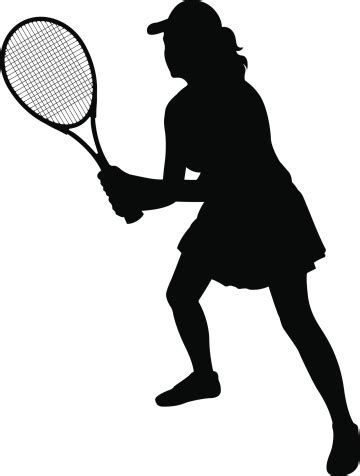 tennis player clipart black and white clipart tennis silhouette