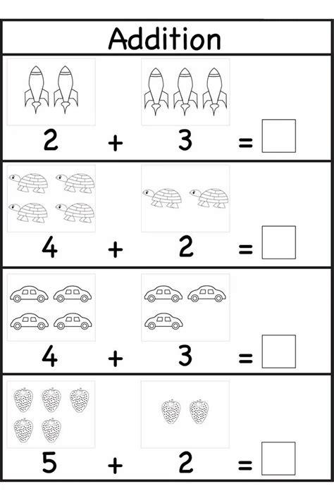 printable preschool math worksheets  preschool