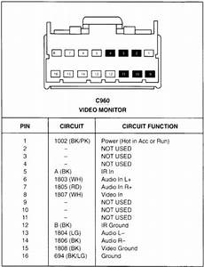 Wiring Diagram Sony 16 Pin Kenwood Harness Kdc For 138