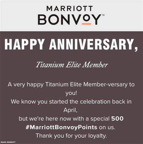 Here's what you need to know about cashing in your points for a free stay. Marriott Bonvoy Member Anniversary Bonus Points | LoyaltyLobby