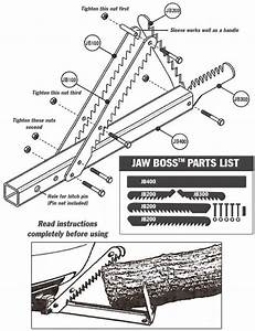 Use Jawboss With Lumber And Logs Only