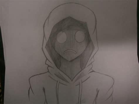 Drawn people hoodie   Pencil and in color drawn people hoodie