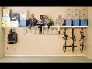 Diy Garage Storage~Diy Garage Shelves Floating Shelves